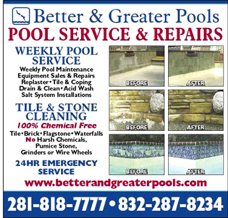 pool service ad. Houston Pool Service   100% Chemical Free Tile Cleaning  Renovations, Katy  Katy Pool Service Ad